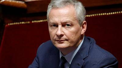 """France finance minister sees """"widening"""" consensus for euro zone budget"""