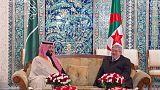 الرئاسة: بوتفليقة لم يتمكن من استقبال ولي عهد السعودية بسبب الإنفلونزا