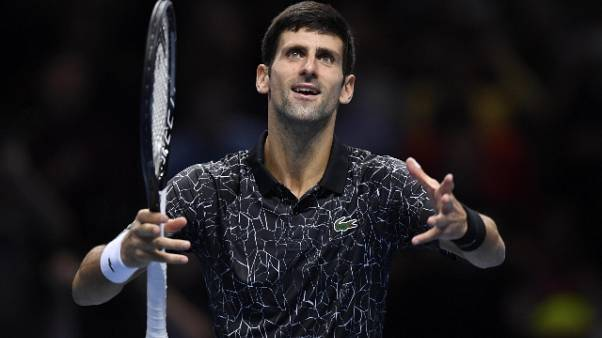 Djokovic 2018 da re, Federer 14mo podio