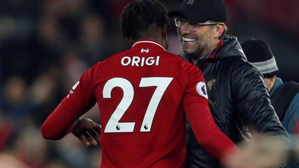 Liverpool's Klopp charged with misconduct for derby celebration