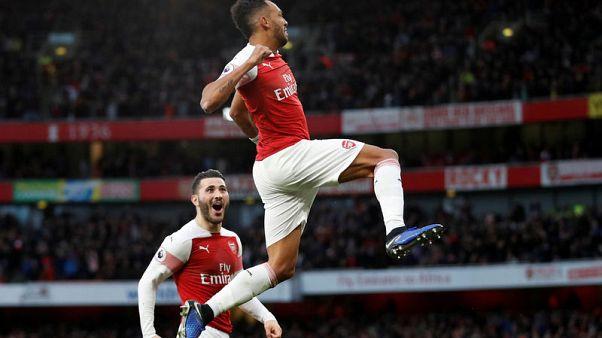 Spurs fan faces ban for banana skin thrown after Aubameyang goal