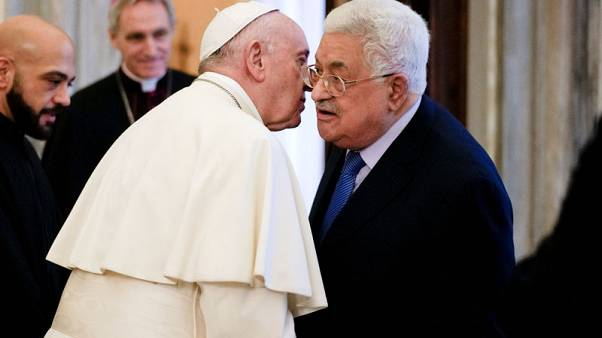 Pope, Abbas discuss Jerusalem at first meeting after U.S. embassy move