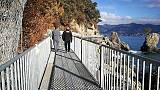 Pronta passerella pedonale Portofino