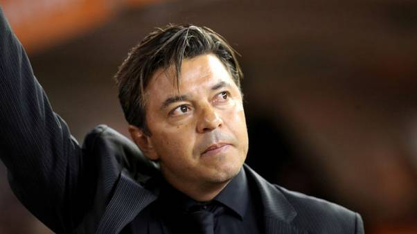 Soccer: River coach says fans 'robbed' by Libertadores switch