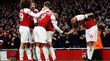 Revitalised Arsenal expect tough United test says Emery