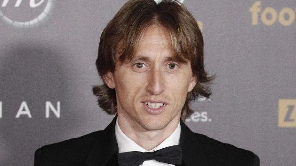 Pallone d'Oro 2018 assegnato a Modric