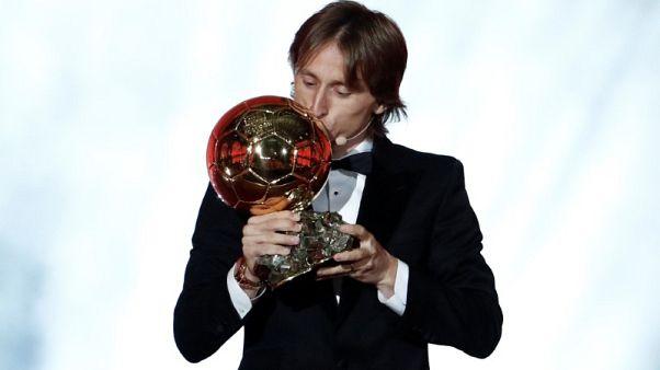 Modric wins 2018 Ballon d'Or, breaks Messi-Ronaldo dominance