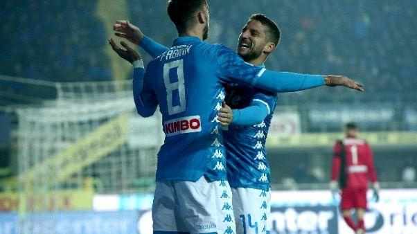 Serie A: Atalanta-Napoli 1-2