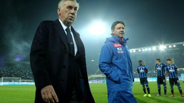 Ancelotti elogia il pubblico di Bergamo