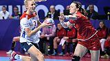 Hand: la Norvège se rassure, la Roumanie impressionne à l'Euro féminin
