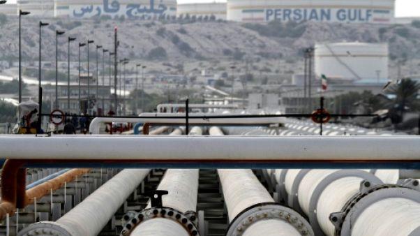 Une raffinerie sur l'île de Kharg (Iran)
