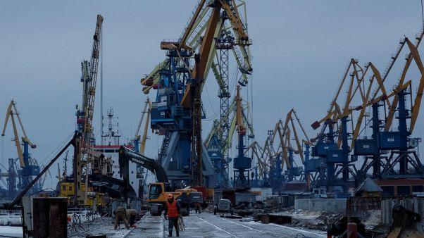 Ukraine resumes grain shipments from Azov Sea