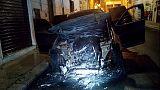 Incendiata auto capitano Cc nel Foggiano