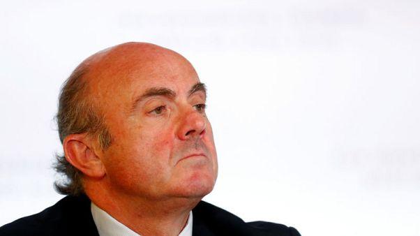 ECB's De Guindos warns of risks of EU planned bad loan reform