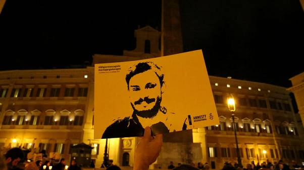 Italy investigates five Egyptian suspects over disappearance of student - source
