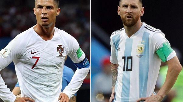 Libertadores: Messi e CR7 al Bernabeu