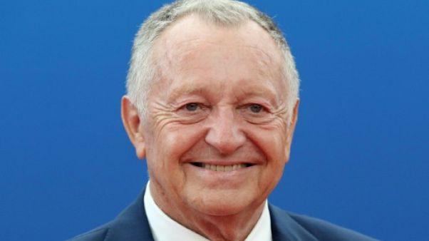Le président de l'OL Jean-Michel Aulas à Monaco le 30 août 2018
