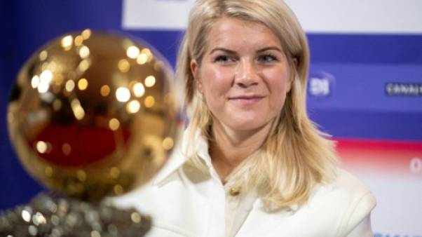 "Ballon d'Or féminin: pour Hegerberg, ""gagner le Ballon d'Or est fantastique"""