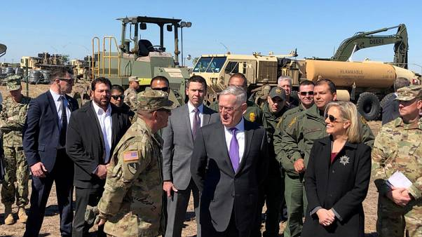 Pentagon extends Mexico border mission until end of January