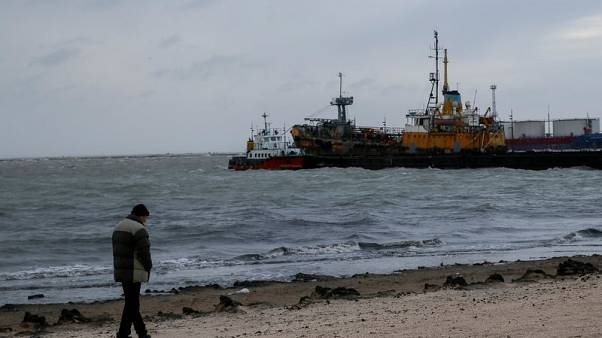 Caught in Russia-Ukraine storm - a cargo ship and tonnes of grain