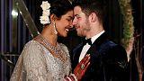 بريانكا تشوبرا ونيك جوناس يحتفلان بزواجهما بعد زفاف دام ثلاثة أيام