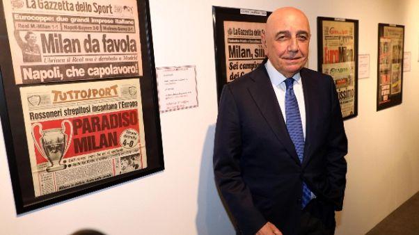 """Galliani: """"Orgoglio rappresentare la C"""""""