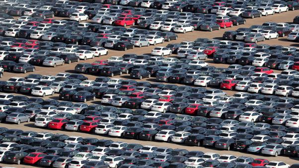 Western European car sales fall further on emissions impact