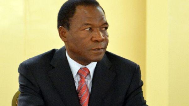 François Compaoré le 20 décembre 2012 à un sommet de Ouagadougou.