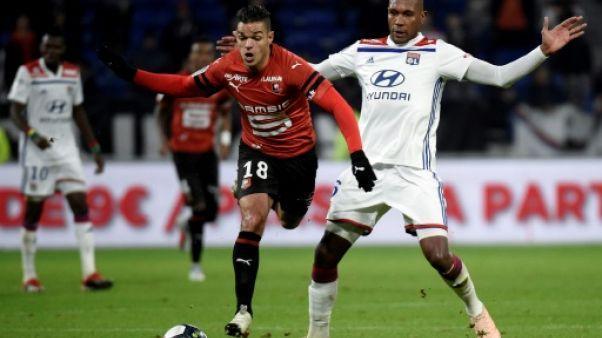 L1: Lyon, battu par Rennes 2-0 rate son dernier test avant la Ligue des champions