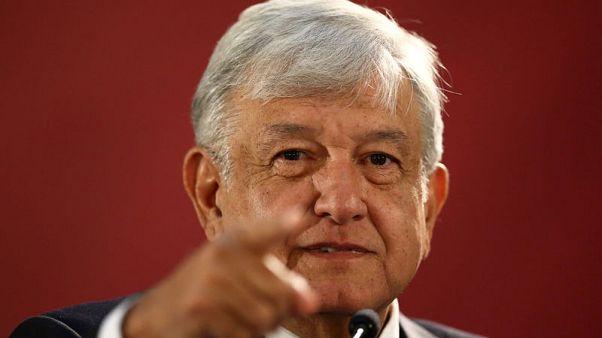 Mexico's Lopez Obrador throws down gauntlet to oil majors