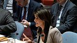ONU: échec de l'Américaine Nikki Haley à faire condamner le Hamas