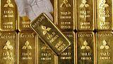 الذهب قرب أعلى مستوى في 5 أشهر مع هبوط الدولار والأسهم