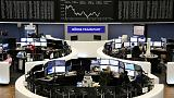 European shares fall as Huawei arrest fuels fresh trade worries; Ericsson up