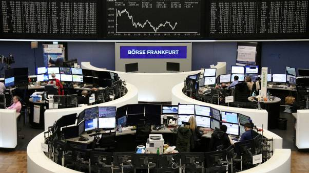 European shares fall as Huawei arrest fuels fresh trade worries; Ericsson up