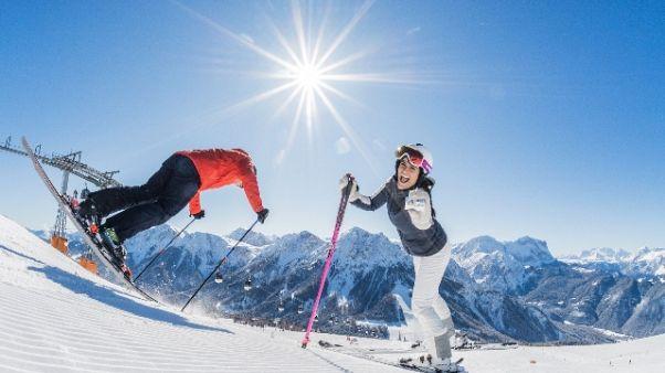 Decolla stagione Dolomiti Superski