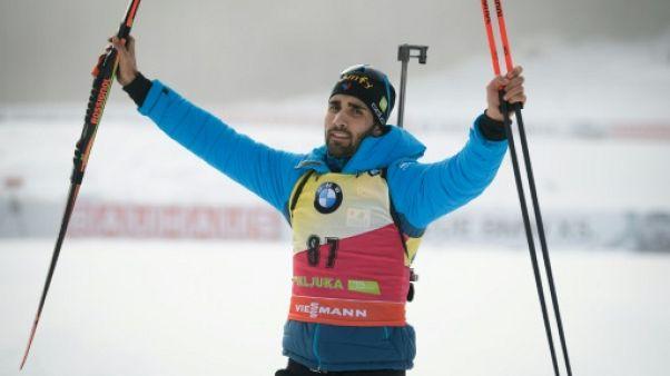 Biathlon: Martin Fourcade remporte l'Individuel de Pokljuka