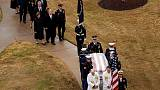 Body of former President George H.W. Bush brought to Texas burial site