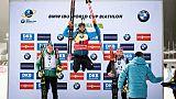 Biathlon: Fourcade déjà au top