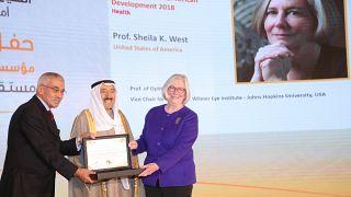Koweït, le 5 décembre 2018 - Les lauréats du prix koweïtien Al-Sumait 2018 pour le développement de l'Afrique se sont vu décerner leurs récompenses par Son Altesse l'Émir de l'État du Koweït