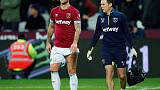 West Ham's Arnautovic out for a month with hamstring injury