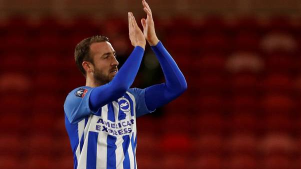 Brighton's Murray an injury doubt for Burnley trip