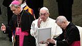 Le pape François, le 5 décembre 2018 au Vatican, à Rome