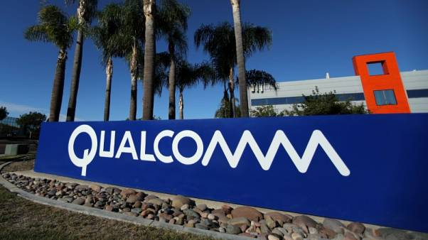 Taking aim at Intel, Qualcomm launches chip for business PCs