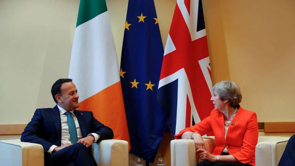 Irish economy could fall seven percent in no-deal Brexit - Times cites leaked UK document