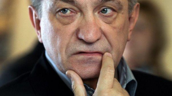 Le cinéaste russe Alexander Sokourov le 27 avril 2010 à Saint-Pétersbourg