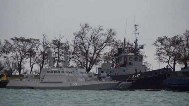 Russia ready to discuss fate of detained Ukrainian sailors after their trial