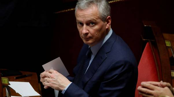 Trade ware to weigh on global growth in coming months - France's Le Maire