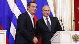 بوتين يقول خط أنابيب ترك ستريم للغاز قد يجري تمديده عبر اليونان