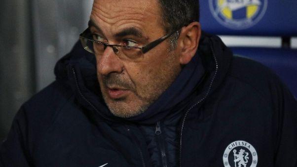Chelsea: Sarri, difficoltà attese