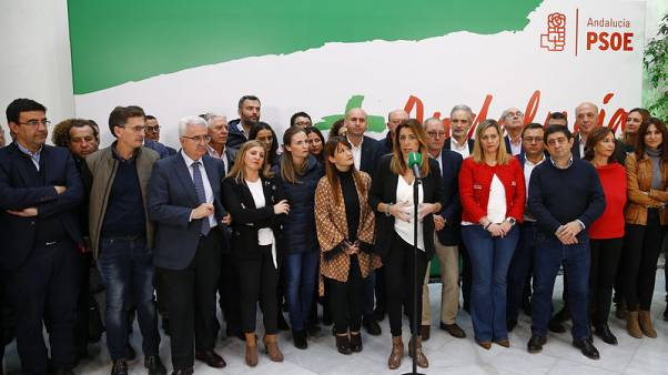 Spanish government calls on Andalusia opposition to shun tie-up with far-right